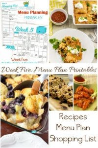 Low Cost End of the Month Meal Plan