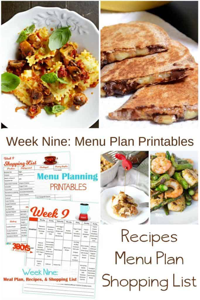 Kid Friendly Meal Plans for Week Nine