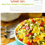 Week Ten Menu Planning Resources