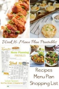 menu plans 16 . includes earth day snacks and treats