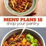 Week Fifteen_ Menu Plan Printables