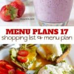 Week Seventeen_ Menu Plan Printables