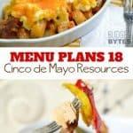 Week Eighteen_ Menu Plan Printables