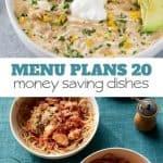 Week Twenty_ Menu Plan Printables