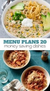 Week Twenty_ Menu Plan Printables
