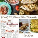 Menu Plan Monday: Kitchen Cleaning
