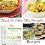 Menu Plan Monday: SUPER Busy Week
