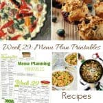 Menu Plan Monday: The Days are Getting Hotter!