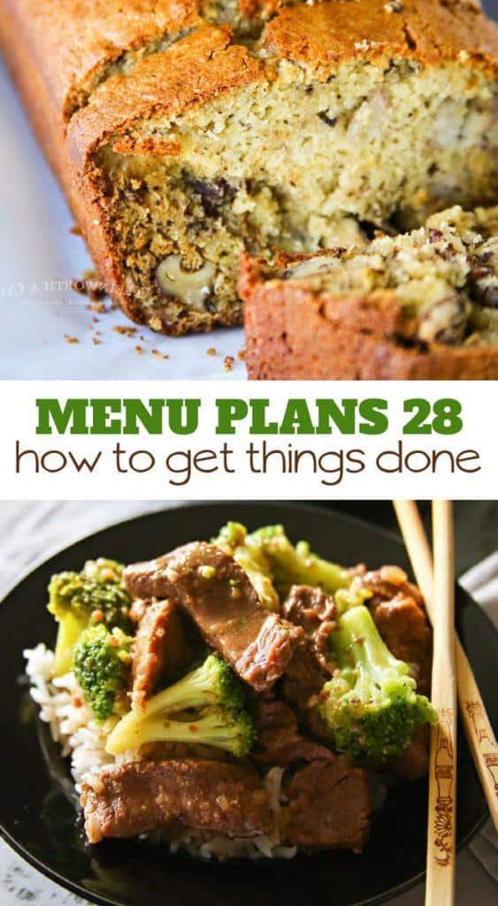 Week Twenty Eight_ Menu Plan Printables