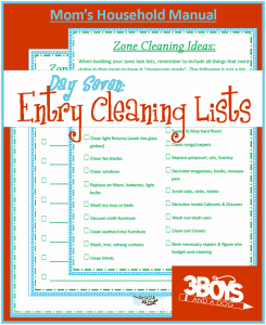 Mom's Manual Day #7:  Cleaning Your Entryway