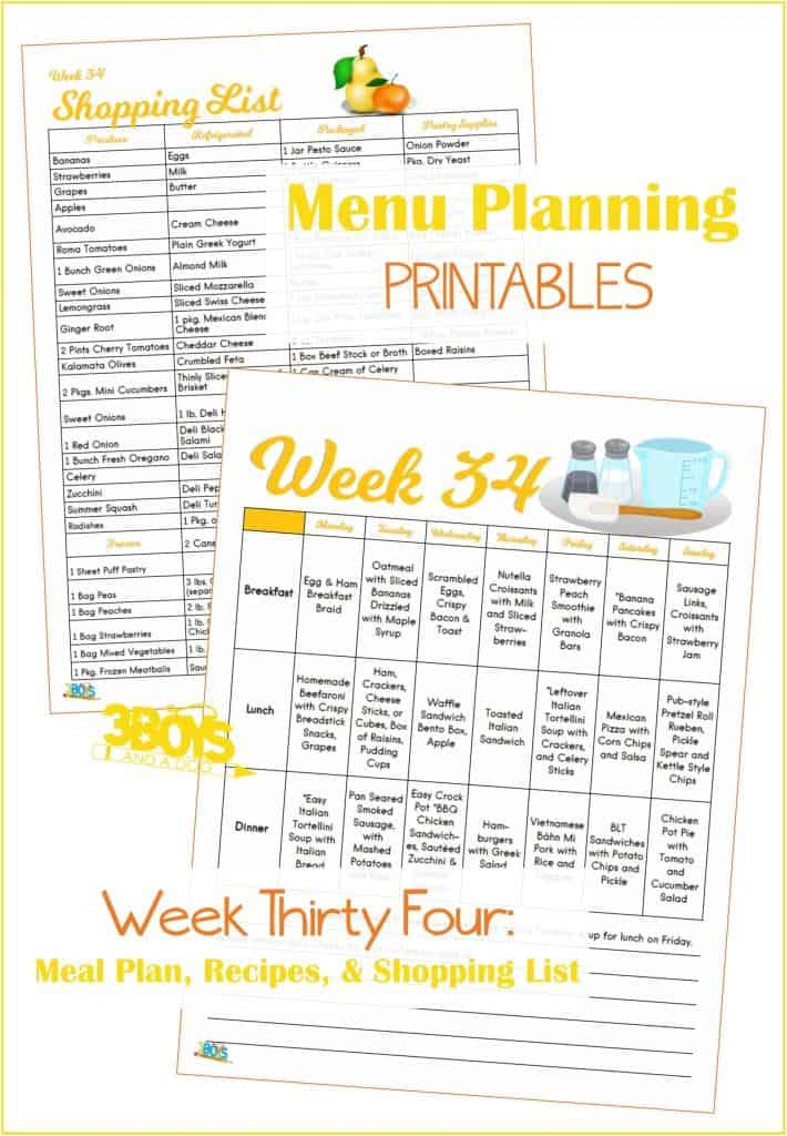 Meal Planning Saves Money and I am going to show you how. Plus, I have done all the work for you. Just print out the list, check out the recipes, & cook.