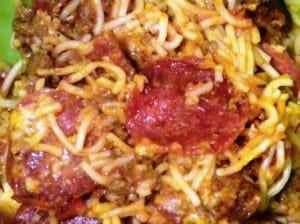 RECIPE:  Crock Pot Pizza