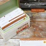 10 ways to organize recipes