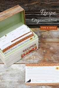 10 ways to organize recipes