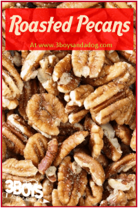 Southern Roasted Pecans Recipe