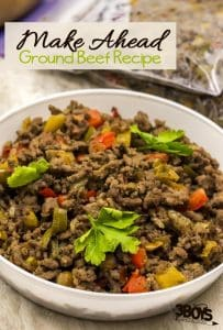 Make-Ahead Ground Beef