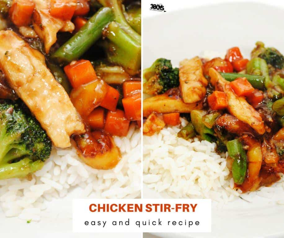 Chicken Stir-fry _ easy and quick China inspired recipe