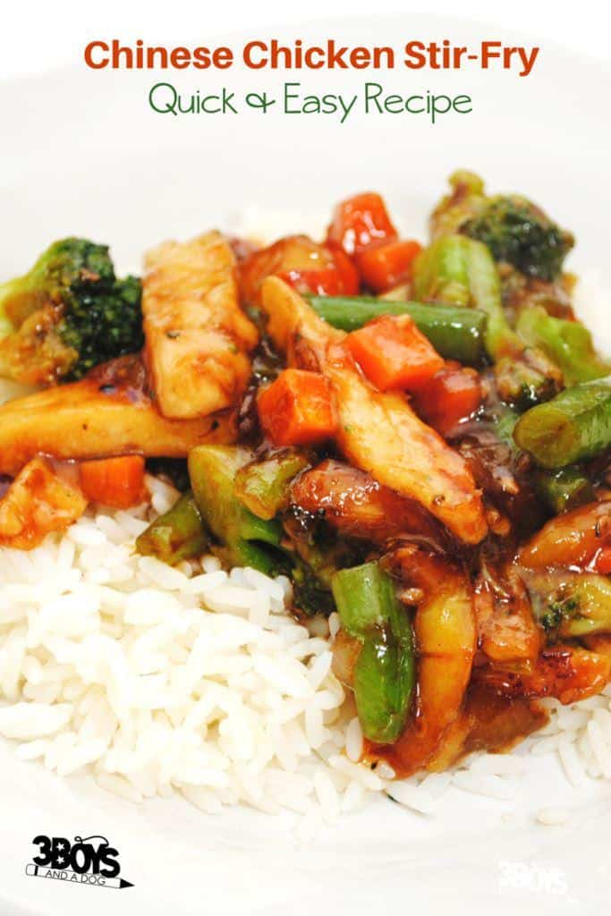 Chinese Chicken Stir Fry - quick and easy recipe