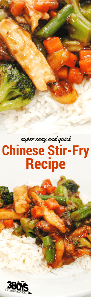 super easy and quick chinese stir-fry
