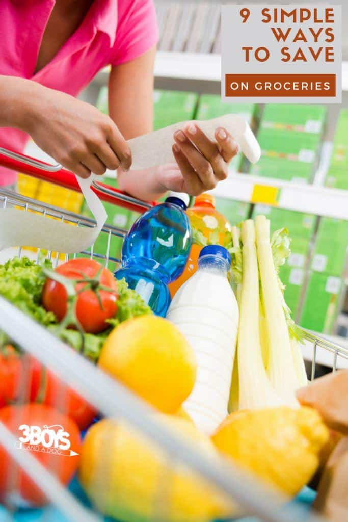 To make things a little bit easier on everyone, I have compiled 9 simple ways tostart saving money on your groceries.