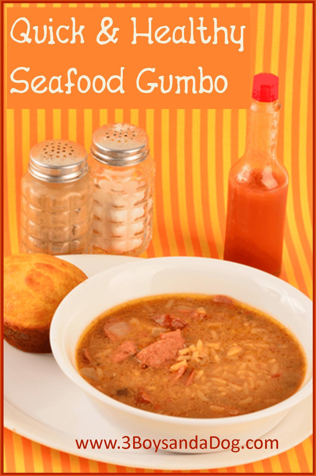 healthy seafood gumbo