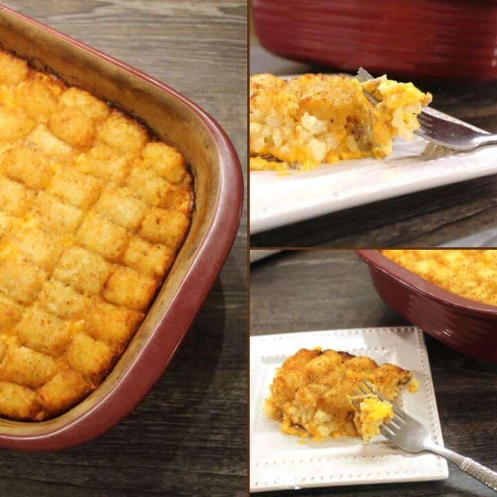 tater tots cheese and sausage recipe
