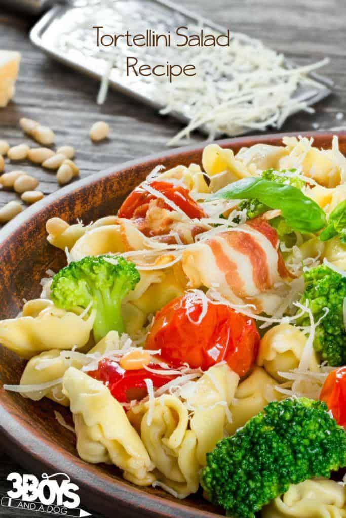 Easy Tortellini Salad Recipe