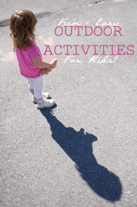 Fun and Easy Outdoor Activities With Kids