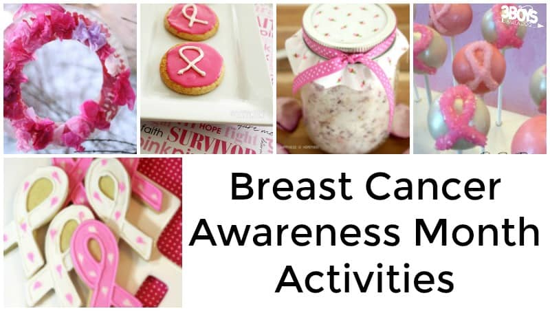 Pink Breast Cancer Awareness Month Activities