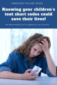 Knowing Your Child's Lingo May Save Their Life