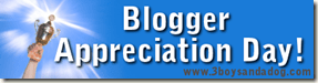 Blogger Appreciation Day Banner