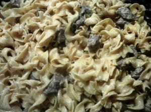 RECIPE: Ultimate Creamy Beef Stroganoff  (Mrs Dash Review)
