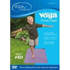 GIVEAWAY:  Kids Teach Yoga Flying Eagle (DVD)