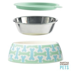 Giveaway: Martha Stewart Pets 3-piece bowl set
