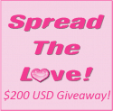 Introducing the Spread The Love 200 Dollar Giveaway!