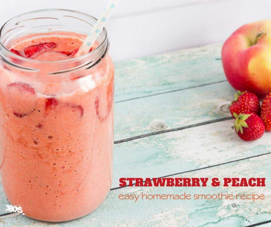 RECIPE: Strawberry-Peach Smoothie