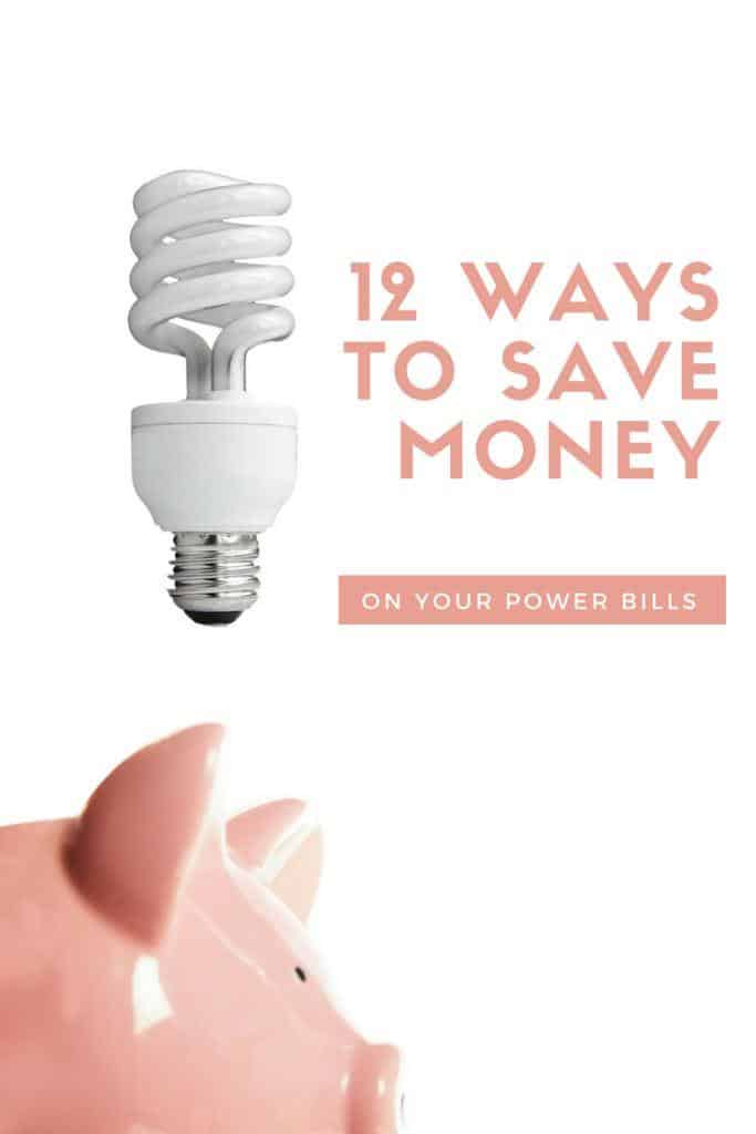 How to save money on your power bills
