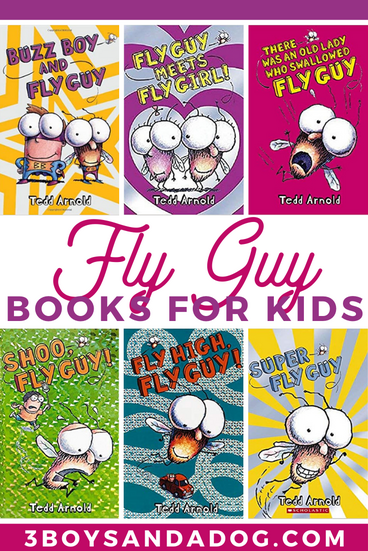 grab some of these books about Fly Guy for your child