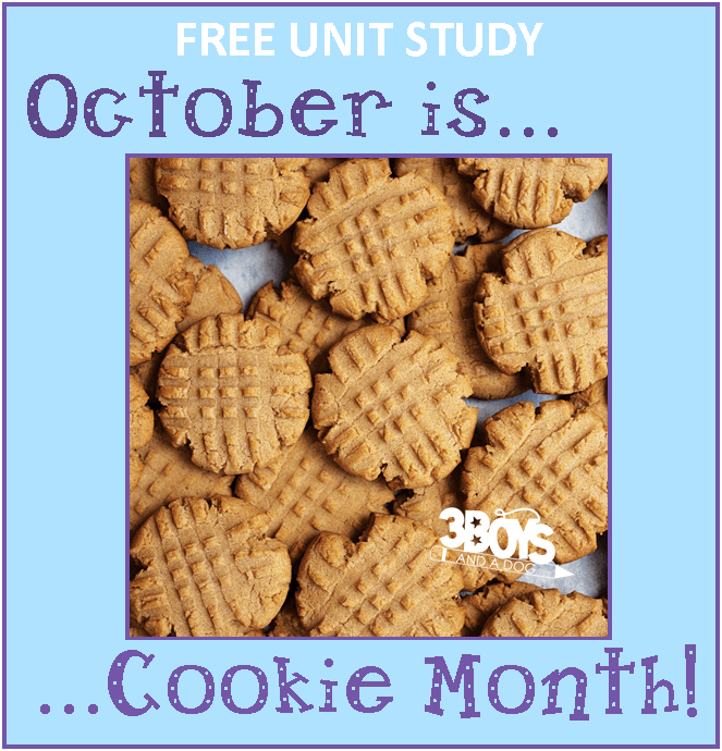 Cookie Unit Study