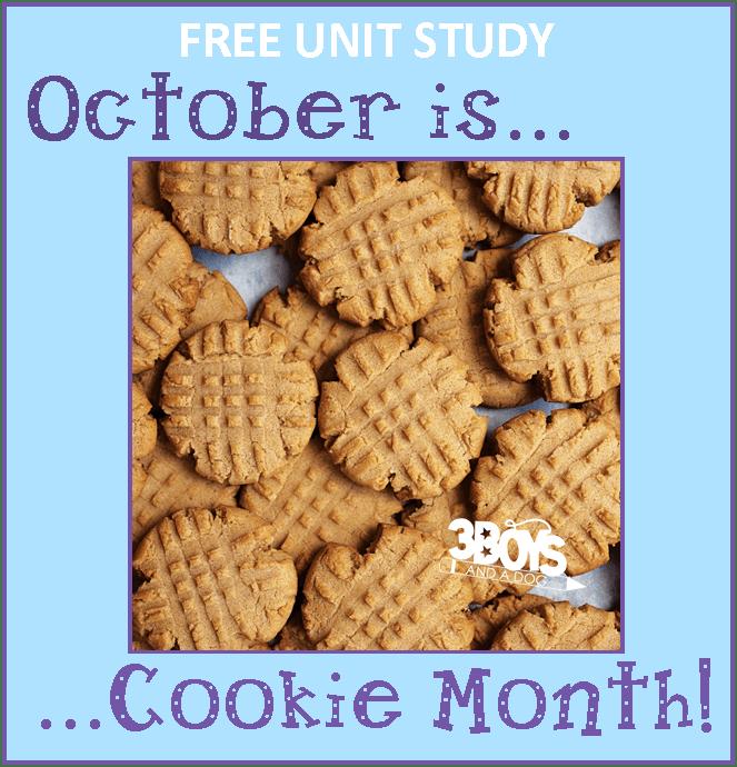 Cookie Unit Study
