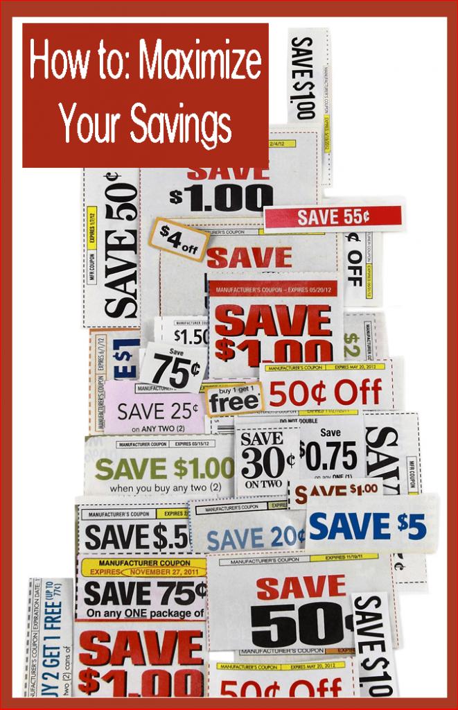How to maximize your coupon savings