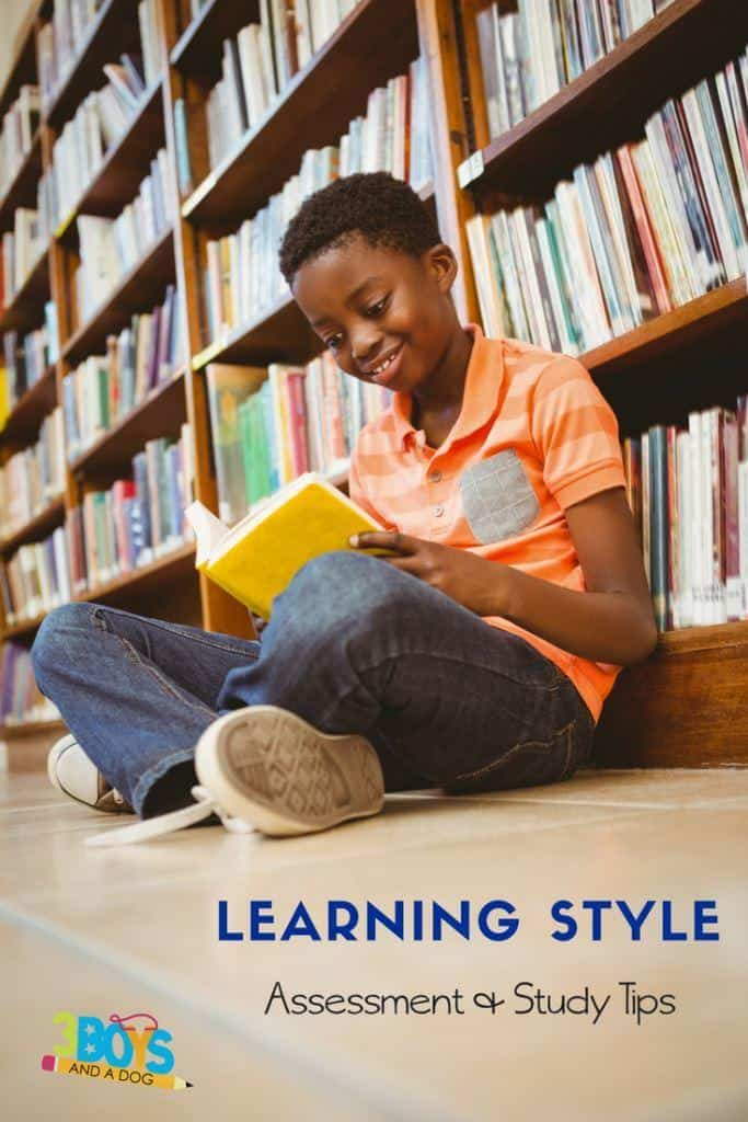 Learning style assessment and study tips