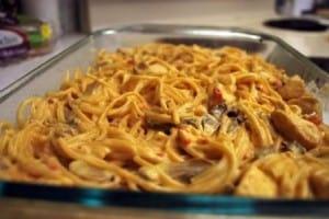 Freezer Friendly Meals: Chicken Spaghetti