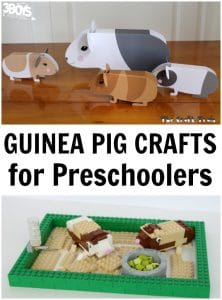 Guinea Pig Crafts for Preschoolers