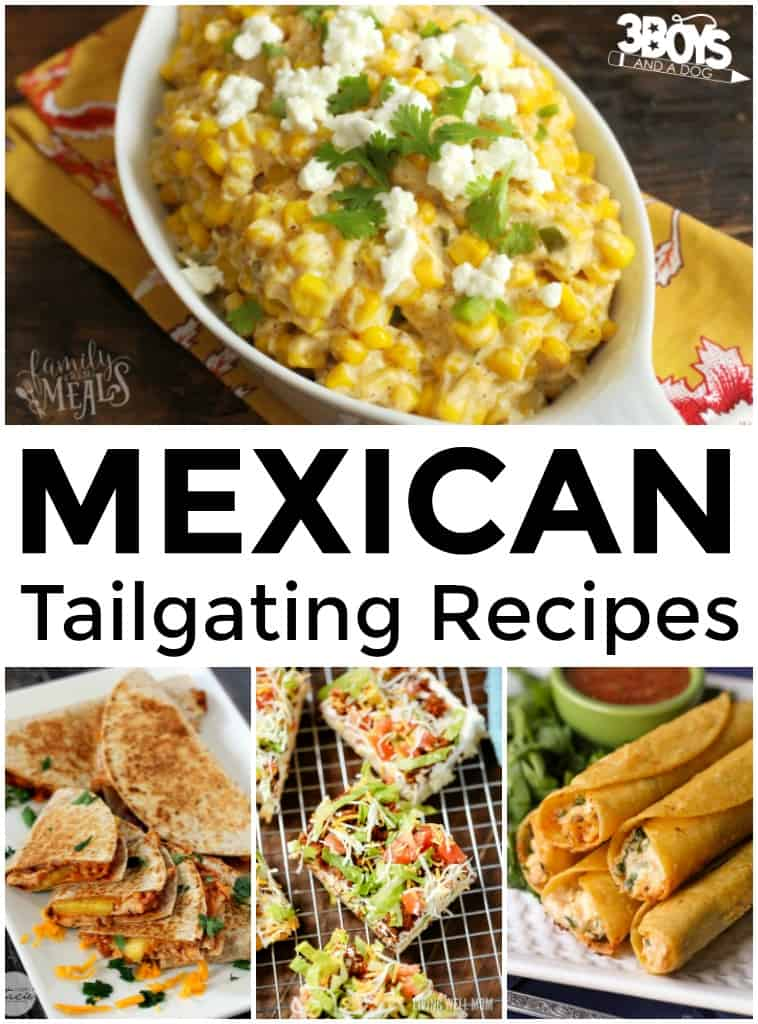 Mexican Tailgate Recipes