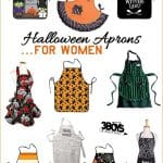 Super Cute Halloween Aprons for Mom