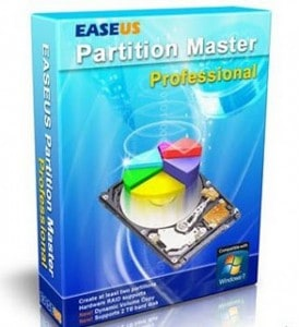 Giveaway: EaseUS® Partition Master 9.1 Professional Edition with WinPE bootable disk ($39.99 Value)