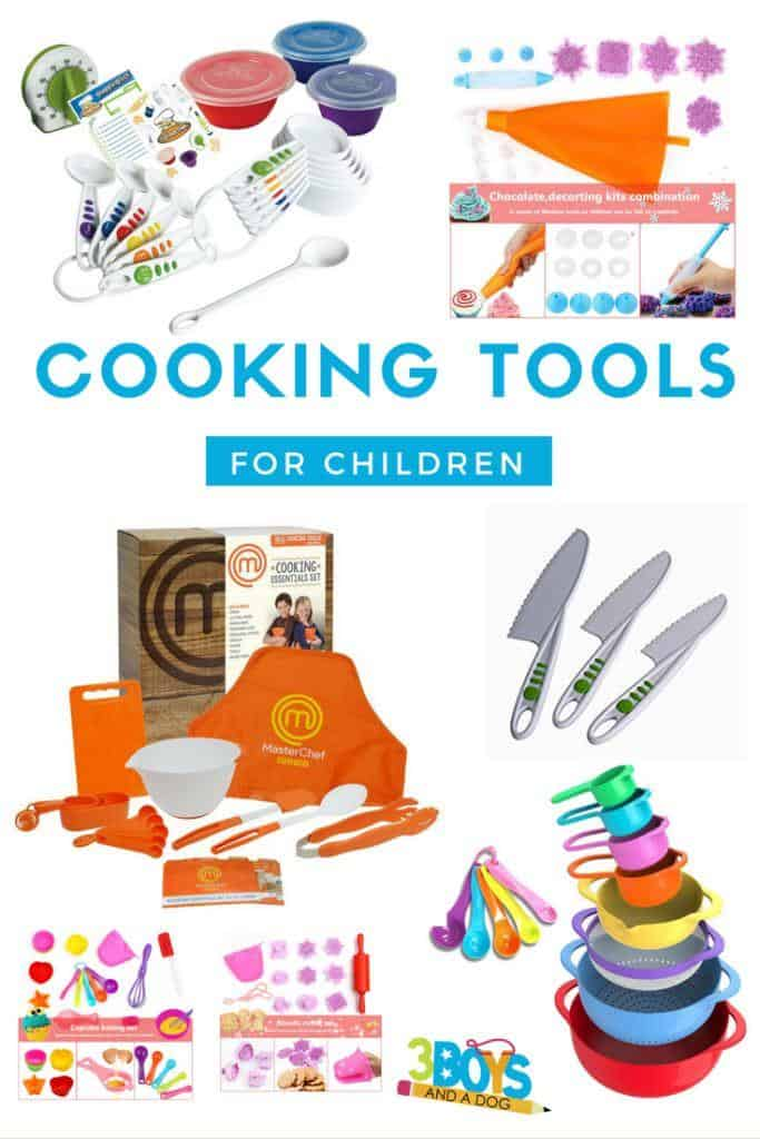 Cooking tools (and cookbooks) for children