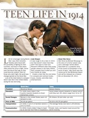 WarHorse Worksheet A
