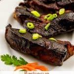 Boneless BBQ (Barbecue) Pork Ribs